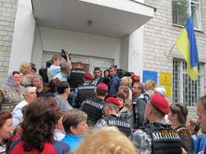 the Events of the 05.07.2011 year raider Софіївсько-borshchahivska of the Board of the Kyiv-Sviatoshynsky district of Kyiv region