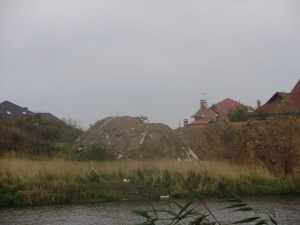 Річка Нивка верхній став, археологічна зона, село Софіївська Борщагівка