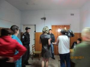"""ДСО та ТОВ """"Домінант плюс"""" не пускають нікого навіть пресуресу в ср 05.08.2011"""