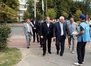 Присяжнк та заславський у м Вишневе  та в селі Софіївська Борщагівка травень 2011 року