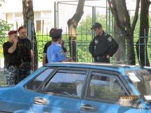 село Софіївська Борщагівка 05.07.2011 р рейдери міліція