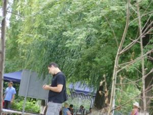 село Софіївська Борщагівка липень 2011 року рейдери ТОВ Домінант плюс в сільській раді 4