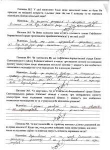 Конихов Софіївська Борщагівка 61,85 га  рішення допити 4 го СМВ УДСБЕЗ ГУ МВС 15