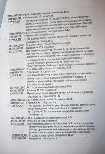 Софіївсько-Борщагівська сільська рада шостого скликання незаконні сесії проведені кудриком та перегінцем від 29.07.2011 року
