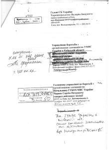 Звіт комісії Софіївська Борщагівка по розкраданню землі Мартинов, Журба та інші