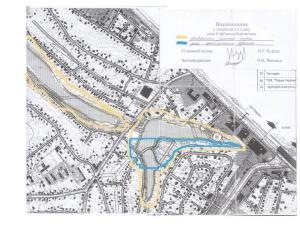 Софіївська Борщагівка генплан річка Нивка археологічна та природоохорона зона