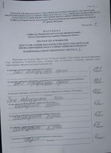 округ №6 вибори 27.05.2012 року