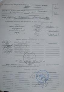 округ №17 вибори 27.05.2012 року