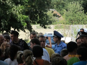 Холодницький Н.І. приїхав узкаонить сесію 29.07.2011 року