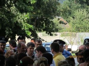 Холодницький і Дудка Р.П. теперішній секретар сільської ради 29.07.2011 року