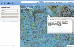 Кадастрова карта України ВіДі Автострада ЗАТ АВтор ВІДІ ГРУП