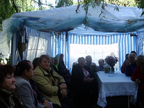 намет 2011 2012 роки село Софіївська Борщагівка