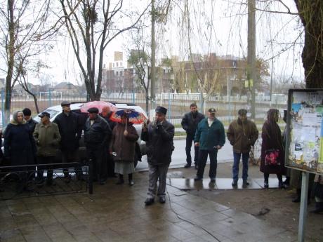 збори Софіївська Борщагівка 05.01.2012 року ляшко Тимофієв